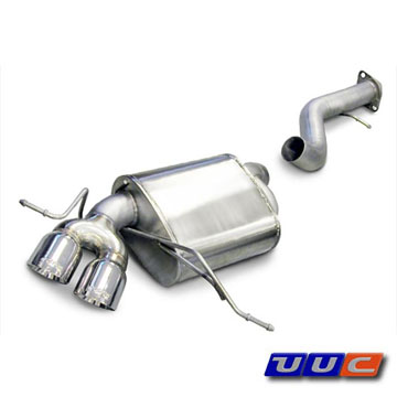 Corsa Axle-Back Exhaust for E87 135i