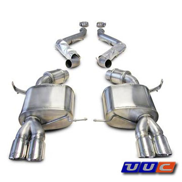 Corsa Exhaust for 2008-2011 E90/E92 M3 Sedan THUMBNAIL