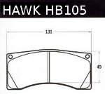 HAWK brake pads for Alcon 4-piston calipers (street & track)