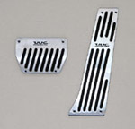 BMW Aluminum Pedal set - automatic transmission