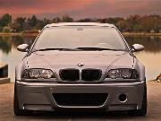 AUTOTECKNIC REPLACEMENT STEALTH BLACK FRONT GRILLES - E46 3-SERIES COUPE PRE-FACELIFT