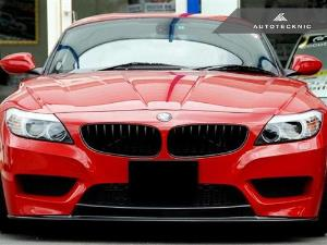 AutoTecknic Replacement Stealth Black Front Grilles - E89 Z4 Series LARGE