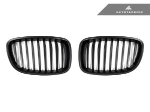 AutoTecknic Replacement Stealth Black Front Grilles - F07 5-Series Gran Turismo_LARGE