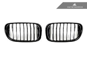 AutoTecknic Replacement Glazing Black Front Grilles - G11/ G12 7-Series_LARGE