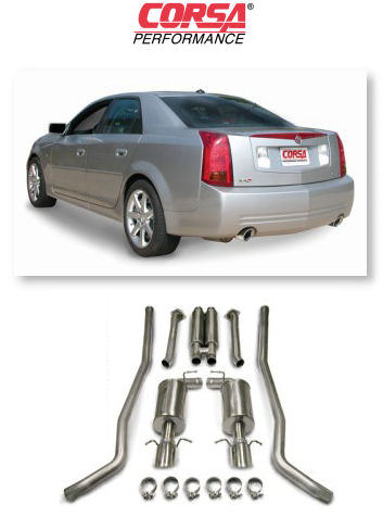 Corsa Performance Exhaust for '04+ Cadillac CTS-V