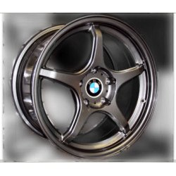 D-Force LTW-5 Lightweight Alloy Race Wheel - 18 inch (3 Series)