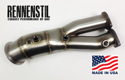 Rennenstil Performance Downpipes for 2010+ 335i/135i with N55 engine THUMBNAIL