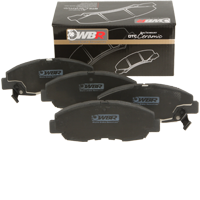 Dual Technology Ceramic (DTC) brake pads for STREET use