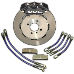 "Big Brake Kit - UUC Direct Fit caliper, 11.75"" rotor, FRONT '84-'91 E30 325/320/318 (all incl. iX)"