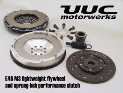 "LTW Stg 2+ Flywheel & M5 hybrid Clutch for E46 M3 6-spd or SMG <b><font color=""#FF0000"">FREE FLUID MAIN"