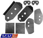 E46 REAR SUBFRAME CHASSIS REINFORCEMENT KIT THUMBNAIL