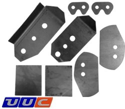 E46 REAR SUBFRAME CHASSIS REINFORCEMENT KIT LARGE
