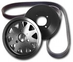 Underdrive Pulley Set - E46 3-series, '99-'06 330/328/325/323 and Z3 3.0/2.5 THUMBNAIL
