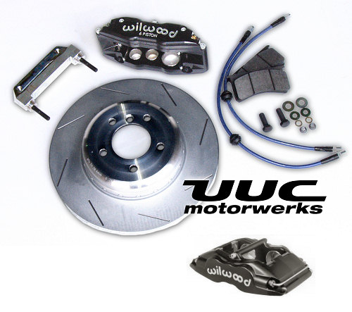 Super Performance Brake Kit - Wilwood Superlite, 348mm rotor, FOUR-WHEEL '82-'95 5-series/M5, 6er/M6