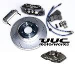 Super Performance Brake Kit - Wilwood Superlite, 348mm rotor, FOUR-WHEEL '82-'95 5-series/M5, 6er/M6 THUMBNAIL