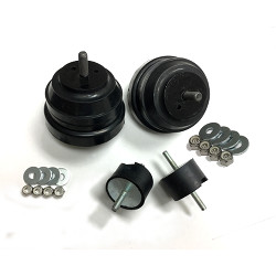 Engine Mounts + Transmission mounts package - OE replacement RUBBER for E36, E46, Z3, Z4_THUMBNAIL