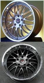 D-Force EmPower Lightweight Alloy Race Wheel - 18 inch (3 Series) THUMBNAIL