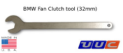 Fan Clutch removal tool - thin 32mm wrench for removing Fan Clutch LARGE