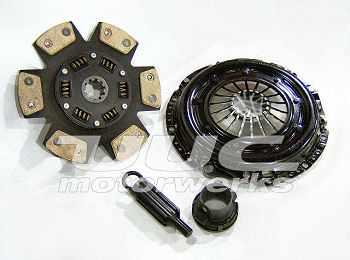 Clutch kit for E46 M3 using UUC Stage2 flywheel - 6-PUCK CERAMIC