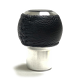 RK6A-L ALUMINUM height-adjustable shift knob with leather covering_SWATCH