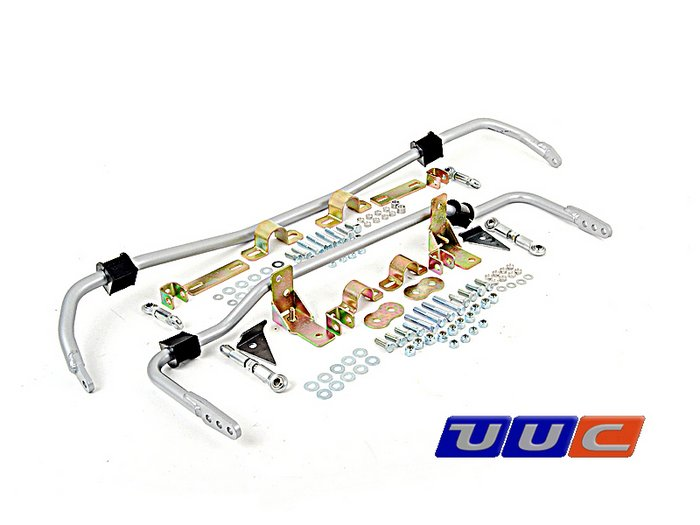 UUC E30 3-series (Spec E30™ legal) swaybars with 16mm rear THUMBNAIL
