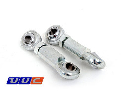 PAIR (2) rear swaybar links for adjustable swaybars for E30 3-series