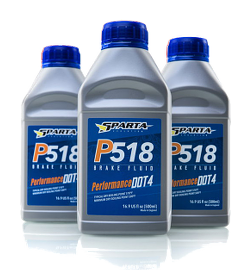 Sparta Evolution DOT4 brake fluid, P518 or R622