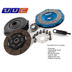 Lightweight Flywheel & clutch -  E46 325i/Ci models built 9/2003 and later - 22 SPLINE DISK KIT