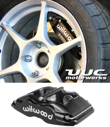 Super Performance Brake Kit - Wilwood Superlite, 345mm rotor, FOUR-WHEEL '01-'06 E46 M3 THUMBNAIL