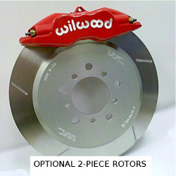 Super Performance Brake Kit - Wilwood Superlite, 325mm rotor, FRONT '99-'05 E46 328/325/323 LARGE