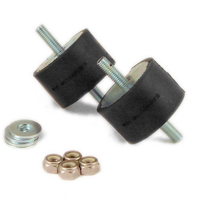 Transmission Mount Bushing kit - BLACK ISOLATED  (priced per pair)