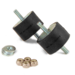 Transmission Mount Bushing kit - BLACK ISOLATED  (priced per pair) MAIN
