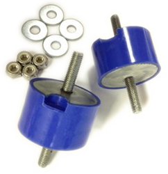 Transmission Mount Bushing kit -BLUE ISOLATED  (priced per pair)