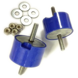 Transmission Mount Bushing kit -BLUE ISOLATED  (priced per pair)_THUMBNAIL