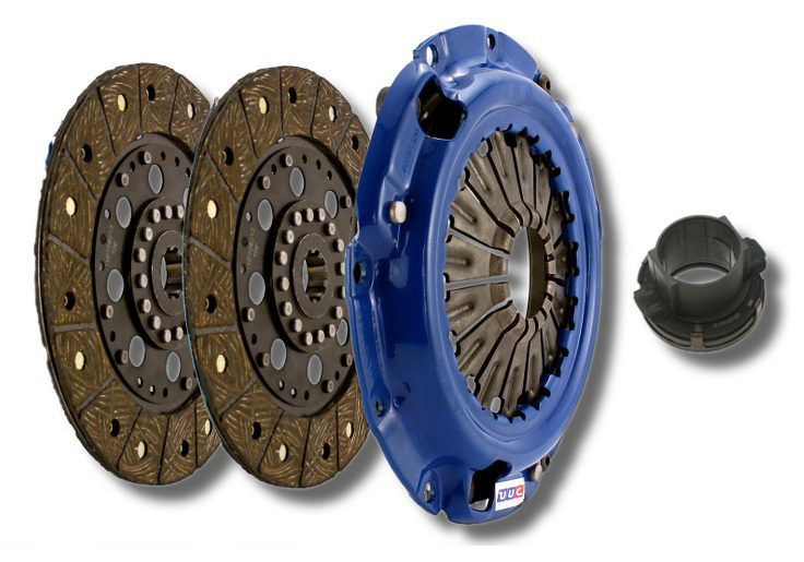 PERFORMANCE ORGANIC replacement clutch kit for UUC Twin Disk (E36, E46 5-spd, Z3 5-spd, E34 5-spd) LARGE