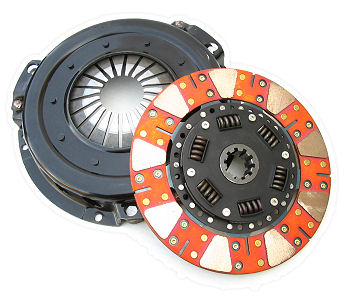Clutch kit for E46 M3 using UUC Stage2 flywheel - UltraSmooth CeraMetallic MAIN