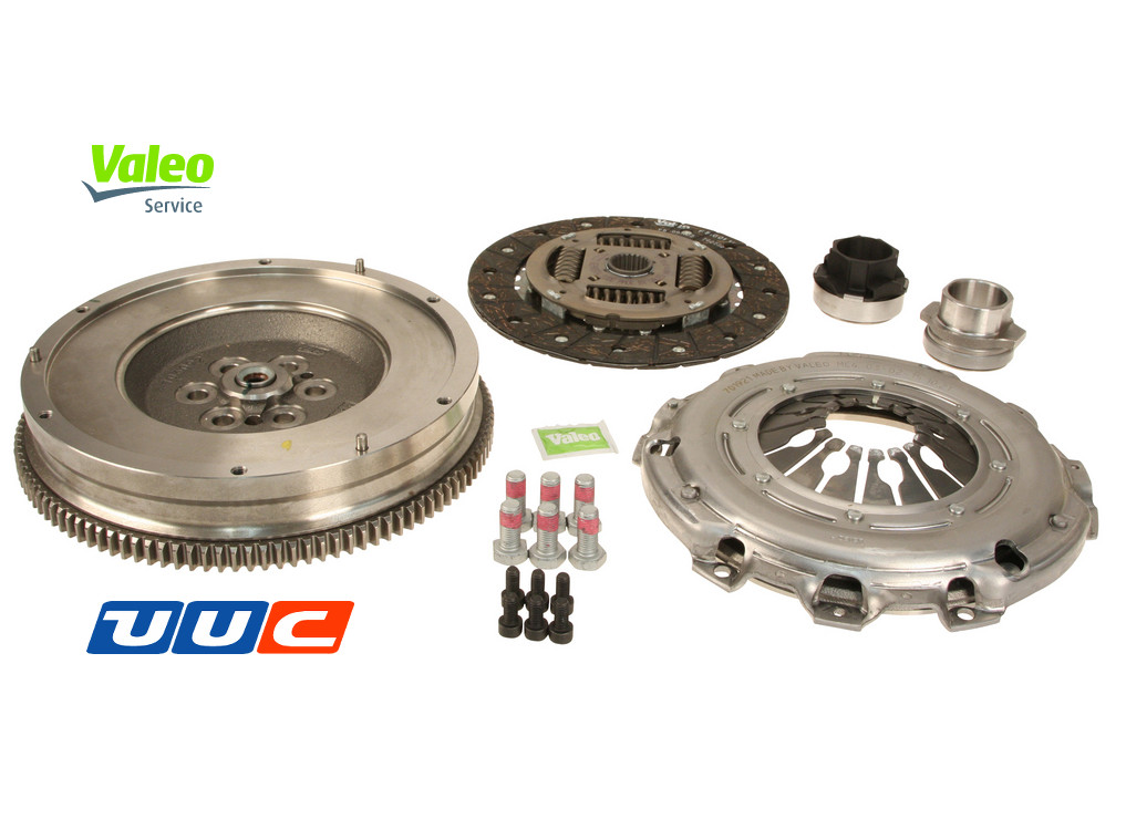Valeo DMF flywheel conversion kit with clutch for E90/E87/E60 LARGE