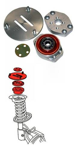E46 camber plates / strut mounts / alignment kit - '99-'05 E46 330/328/325/323 (not for M3)