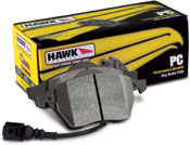 Rear Hawk brake pads for BMW E46 M3 - Performance Ceramic
