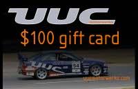 $100 UUC Gift Card