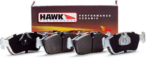 Hawk Performance Ceramic REAR brake pads for Cadillac CTS-V - HB194Z.570
