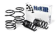 BMW E39 540i Sedan without Sport Suspension H&R Sport Springs 1996-03
