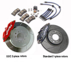 Super Performance Brake Kit - Wilwood Superlite, 325mm rotor, FOUR-WHEEL '94-'99 E36 M3, '96-'01 MZ3