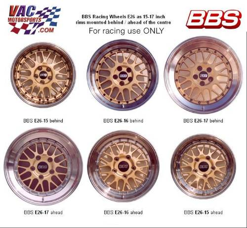 Bbs E26 E 26 Motorsports Race Racing Wheel
