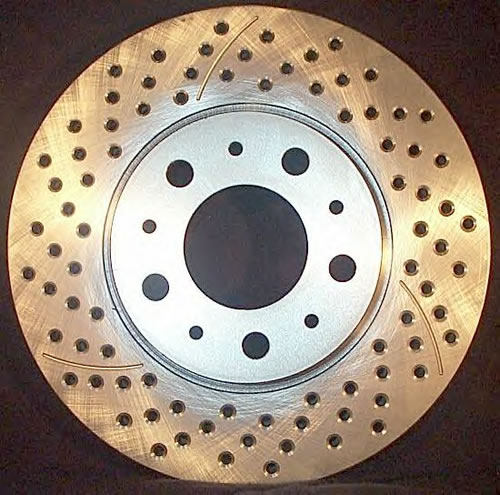 Cross Drilled Rotors >> Brembo Cross Drilled Rotor Kit For Mini