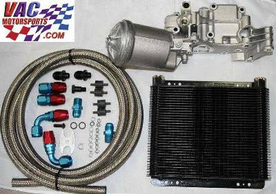 Vac Bmw Racing Oil Cooler Kit With Euro Filter Housing