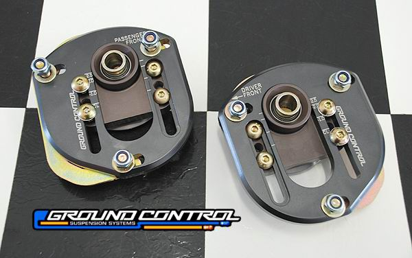 Ground Control Bmw E30 Front Camber Caster Plates