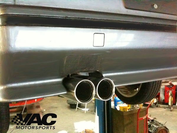 Stromung Exhaust Performance Rear Section Exhaust For Bmw