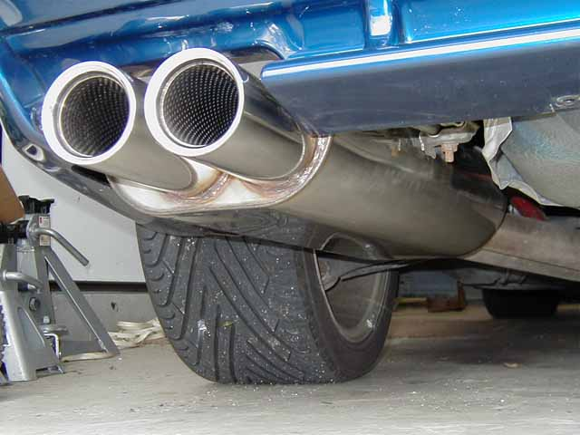 Stromung Bmw Performance Rear Section Exhaust Bmw E36