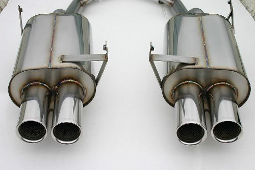 Stromung Bmw Performance Rear Section Exhaust Bmw E36 Z3 M Coupe